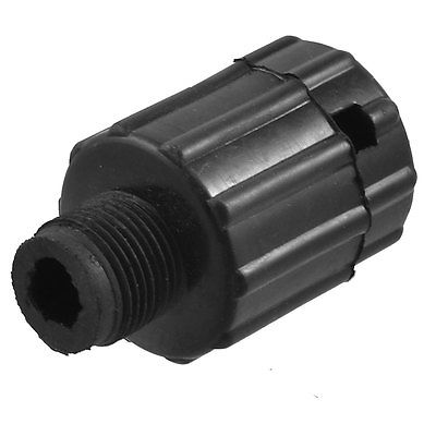 Air Compressor Component 16mm Male Thread Dia Oil Plug Black 13mm male thread pressure relief valve for air compressor