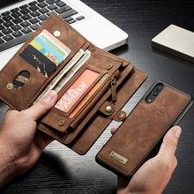P20 / P20 Pro dla Huawei P20 Lite Case Pro odwróć PU skórzany portfel na okładce telefon torba Case dla Coque Huawei P20 Huawei P 20 Pro