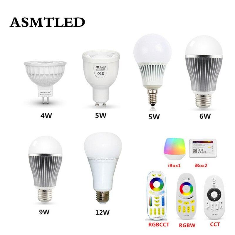 Sunny Mi Light E27 Gu10 Mr16 4w 5w 6w 9w Dimming Color Temperature Led Bulb Lights Rgbw/rgbww/rgb+cct Smart Remote Wifi Alexa Led Lamp Discounts Price Led Bulbs & Tubes Lights & Lighting