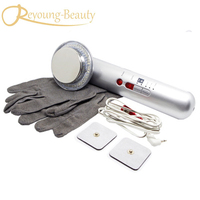 Free Shipping Galvanic Ion Ultrasonic Photon EMS Body Slimming Cellulite Reduction Beauty Massager Machine