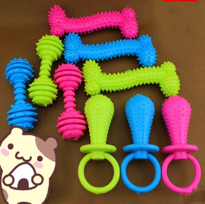 High Quality Colorful Dog Teething rings e1d1a37d82ad