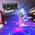 Освещение сцены 3 Объектив 24 Pattern Клуб RG Лазер СИНИЙ ПРИВЕЛ Домой Партии Профессиональный Проектор освещения DJ Light Дискотека лазерная