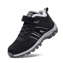 Pria Sepatu Hiking Berkemah Mendaki Gunung Salju Hiking Boots Wanita Tahan  Air Olahraga Sepatu Bot Memancing Trekking Sneakers 7f9492beee