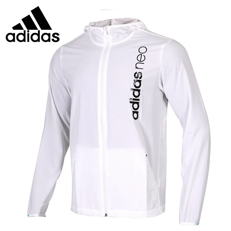 Original New Arrival 2018 Adidas NEO Label M CE CL WB Men's jacket Hooded Sportswear цены