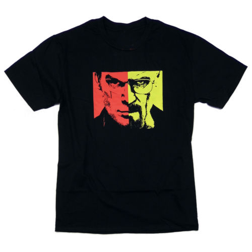 BREAKING BAD t shirt men Walter White & Dexter casual short sleeve tee USA size S-3xl image