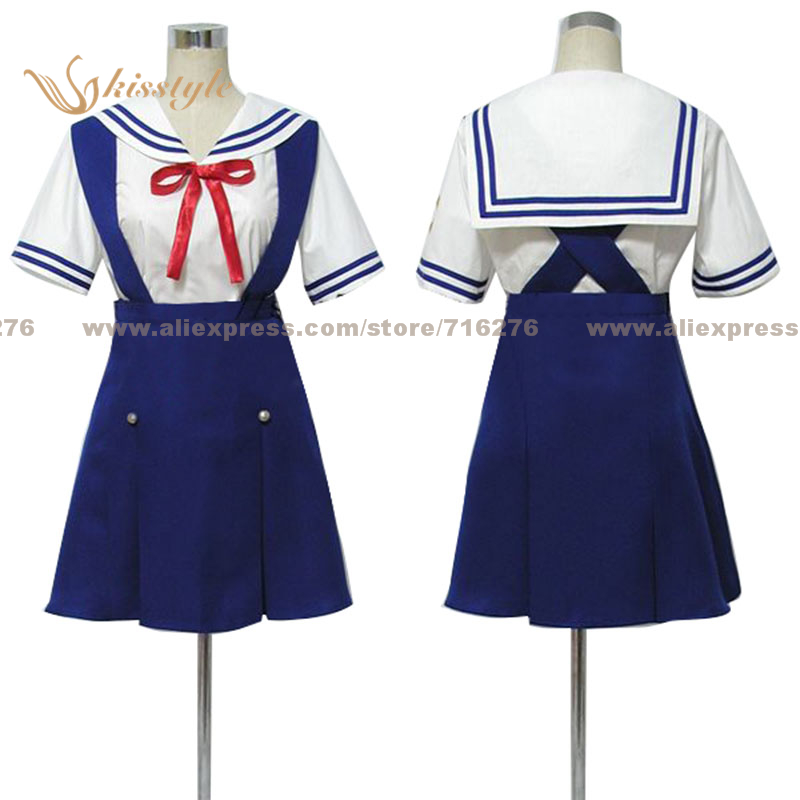 Kisstyle Fashion <font><b>Clannad</b></font> School Uniform COS Clothing <font><b>Cosplay</b></font> Costume,Customized Accepted image