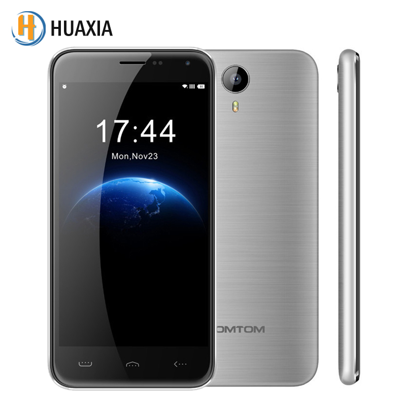 Original homtom ht3 android 5.1 quad core 5.0 ''cell teléfonos ruso 8 GB ROM 1 G