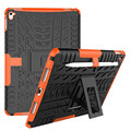 """Color de la mezcla Heavy Duty TPU & PC Dual Armor case For iPad Pro Cubierta con soporte """"9.7 pulgadas"""" En El Envío Libre"""