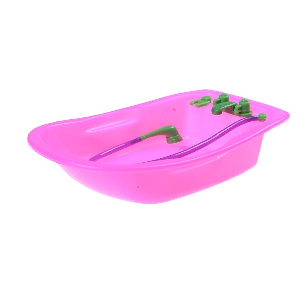 1 pz carino moda accessori per mobili giocattolo del bambino play house toys vasca da bagno