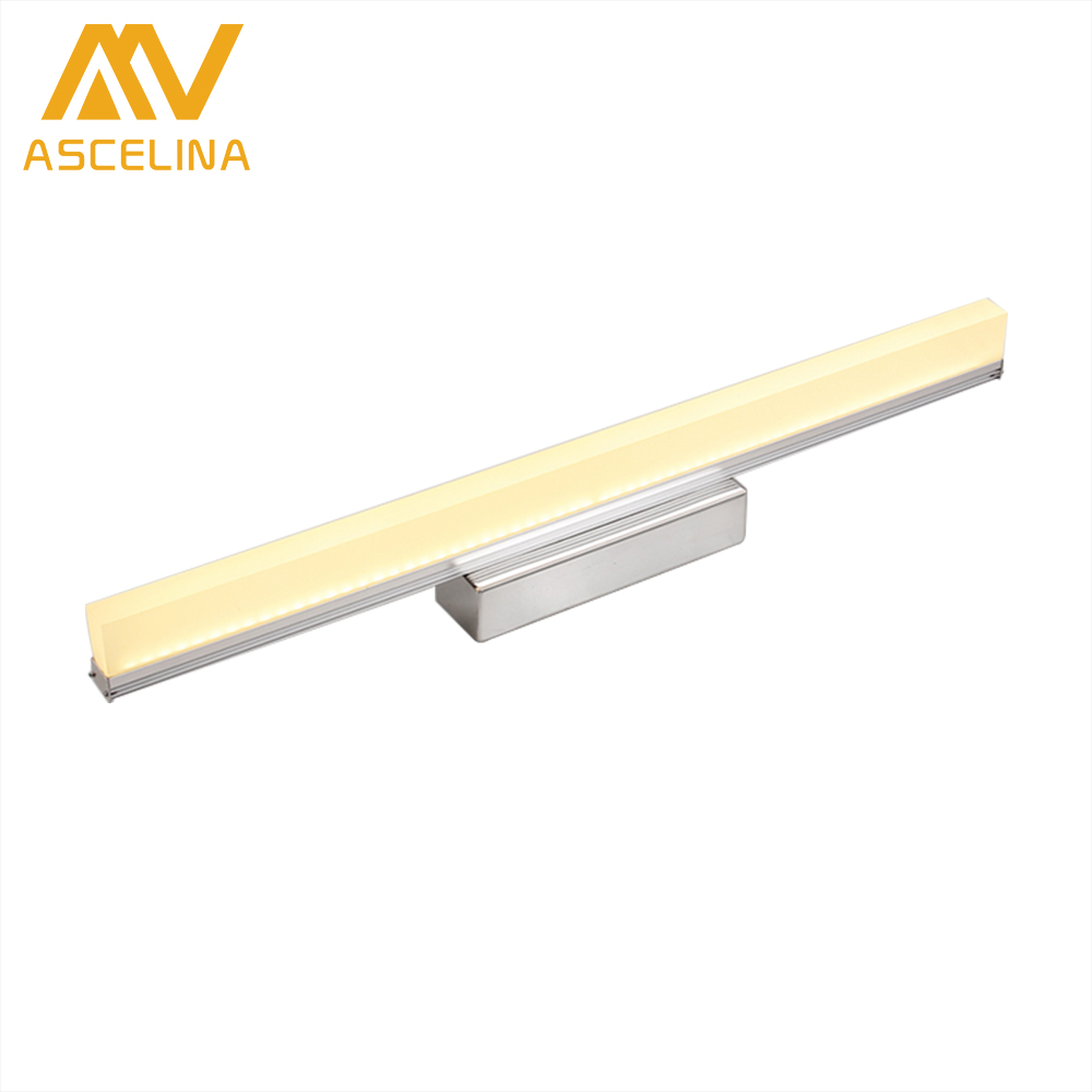 ASCELINA LED Mirror Front Lamp Modern Wall led lamps Modern bathroom light WALL Sconce indoor wall lighting 14W/16W/20W 85-260V mirror high quality k9 crystal led wall lamp sconce post modern coffee shop decatarion lighting fixture indoor wall lamps abajur