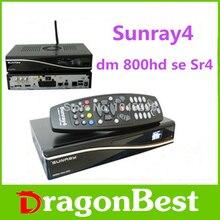 Sunray4 sim dm800hd se 2.10 Sintonizador Triple DVB-S/C/T Rev D11 versión construido en wifi Receptor de Satélite