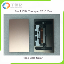"""Genuine New Early 2015 Year MF855 MF865 A1534 Touchpad For New Macbook 12"""" A1534 Trackpad Mouse Rose Gold Color A1534"""