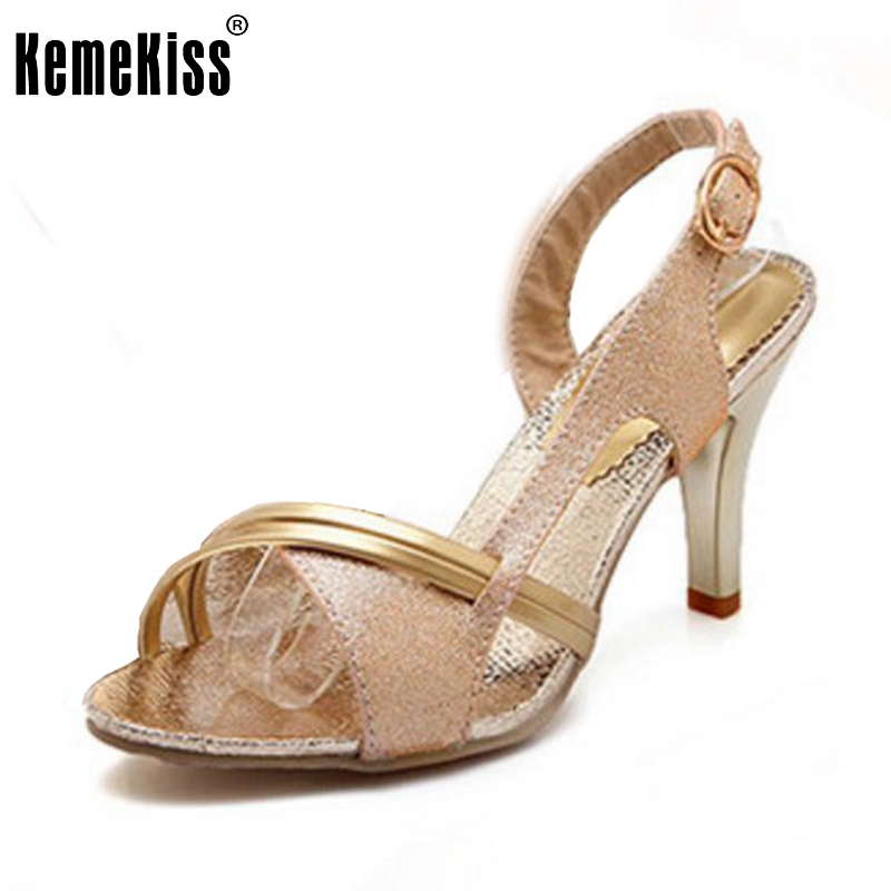 Lady High Heel Sandals Fashion Peep Toe Mixed Color Shoes Woamn Quality Party Dress Sandalias Heels Footwear Size 34-43 PA00712 zorssar brand 2017 high quality sexy summer womens sandals peep toe high heels ladies wedding party shoes plus size 34 43