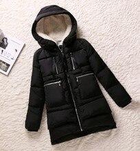 2016 Мода Зима Женщины Ватные Куртки Женщины Хлопок Ватные Верхняя Одежда Утолщение Случайные Вниз Пальто Женщин Парки Плюс Размер 5xl