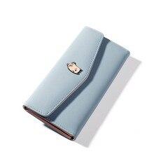 Brand Designer Female Purses Wallet Women Long Zipper Coin Purse Women Wallets Pu Leather Card Holder Colorful Clutch Female цены