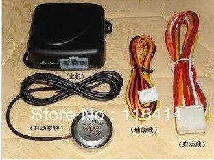 Bouton poussoir de démarrage de moteur de voiture/démarreur d'allumage de serrure de moteur de RFID/système sans clé de go, système d'arrêt de démarrage de moteur de bouton-poussoir