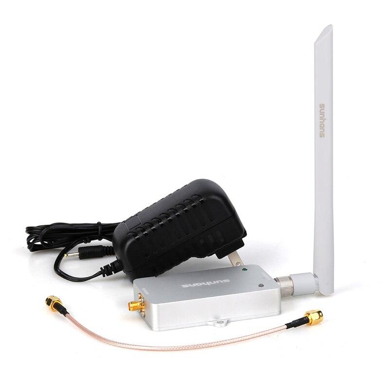 Sunhans 5.0-5.8GHz 4000mW 36dBm Router WiFi Signal Booster Amplifier