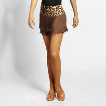 2018 Latin Dance Skirts For Woman Female Lady Sexy Costumes Fashion Tassel Skirt Ballroom Tango Costumes Performance Wear DN1499