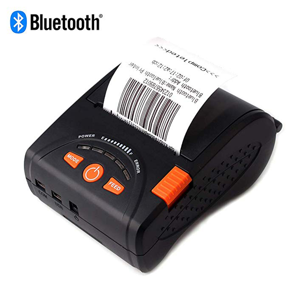 Issyzone Bluetooth Printer Barcode Thermal Receipt Mini 58mm Printer  For Android iOS Mobile Print Logo Supermarket Jewelry MilkIssyzone Bluetooth Printer Barcode Thermal Receipt Mini 58mm Printer  For Android iOS Mobile Print Logo Supermarket Jewelry Milk