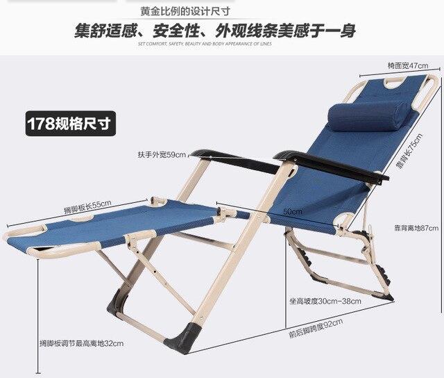 4 Simple Lit Pliant Chaise Bureau Djeuner Sieste Pliante Camp