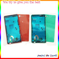 Original New For Sony Xperia Z3 Compact Mini M55W Full housing LCD frame Battery Door middle frame Back housing With USB Plug