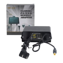 Free Shipping DC 12V 2A Power Supply Adapter For CCTV Camera,European Wall Hanging Waterproof Outdoor Power Adapter
