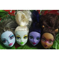 UCanaan Original Head for Genuine Original Monster Hight dolls,,Free shipping,Original Monster clothing doll's head  only 1 pc