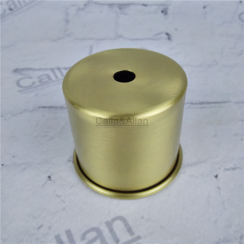 M10 D65mmX55mm Small Size Brass Material Socket Cover Copper Base Cup Quality E27 Lamp Cover Lamp