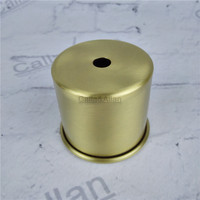M10 D65mmX55mm small size brass material socket cover copper base cup quality E27 lamp cover lamp shade lighting mount cone