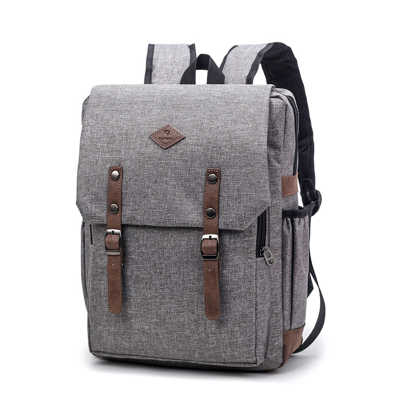 Men Boy Canvas Backpack Travel Leisure Backpacks Retro Casual Backpacks School Bags For Teenagers Nylon Bag1804