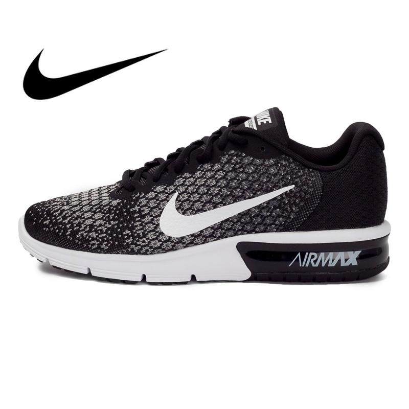Original New Arrival NIKE AIR MAX SEQUENT 2 Men's Running Shoes Sneakers Summer 2018 Massage Breathable Cushioning 852461