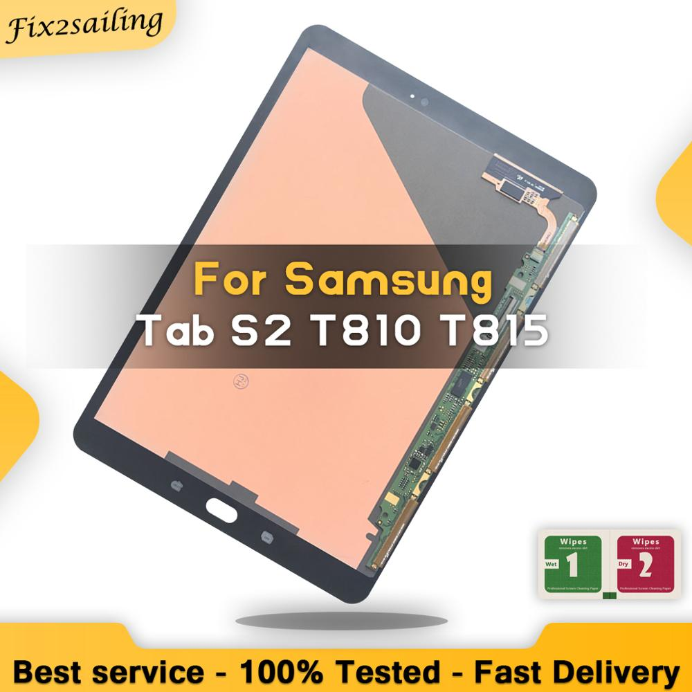 9.7 Inch Lcd Display For Samsung Galaxy Tab S2 T810 T815 Touch Screen Digitizer Sensors Assembly Replacement