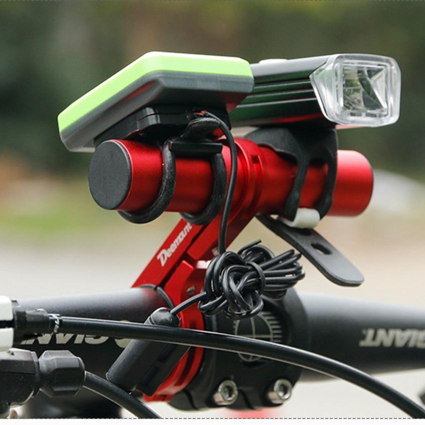 Bike Flashlight Holder Handlebar Bicycle Accessories Extender Mount BracketEP