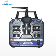Flysky FS-CT6B AFHDS 2.4GHz 4CH Radio 4 Channel Transmitter + FS-R6B Receiver for RC Airplane