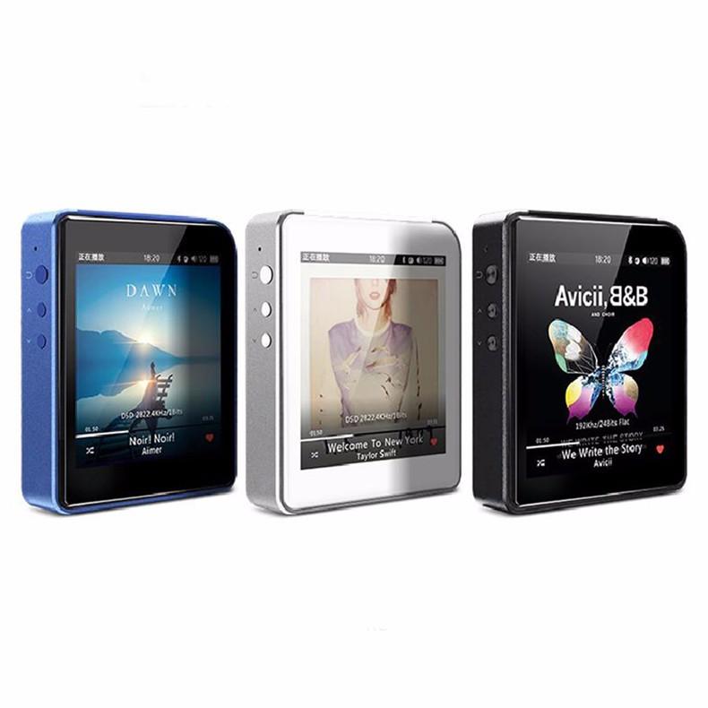 2016 New Original Shanling M1 Portable Bluetooth DAP DSD HIFI Lossless MP3 Music Player Mini Movement MP3 Player 2