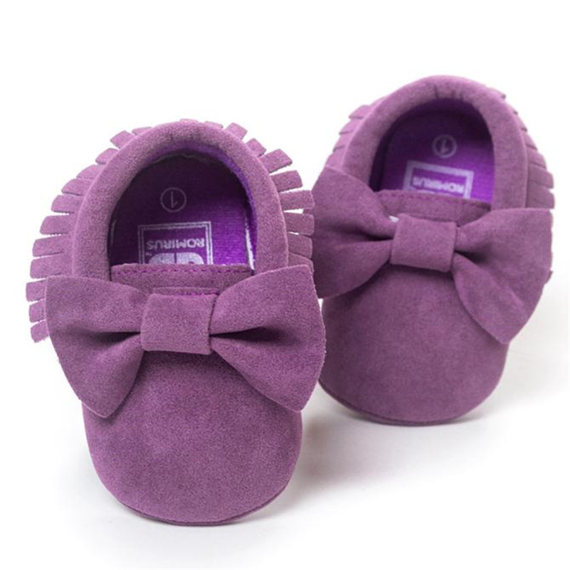 Baby First Walkers Shoes Crib Tassels baby Bowknot Shoes Toddler Sneakers Casual Shoes booties footwear slippers for newborns A1
