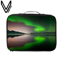VEEVANV Brand 2017 Gorgeous Starry Sky Malas Viagem 3D Prints Travel Luggage Bags for Women Waterproof Suitcases And Travel Bags