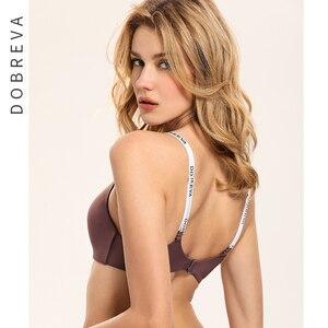 Image 4 - DOBREVA bielizna Push Up biustonosz bezszwowy Bralette bez fiszbin biustonosz bielizna damska Intimates dla kobiet
