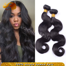 Brazilian Virgin Hair Body Wave 3 Bundles 7A grado brasileño onda del cuerpo armadura brasileña del pelo humano Queen Hair Products