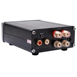 Image 3 - Kguss GU100 ミニハイファイクラス d オーディオデジタルパワーアンプ tpa3116d2 TPA3116 高度な 2*100 ワットミニホームアルミエンクロージャアンプ