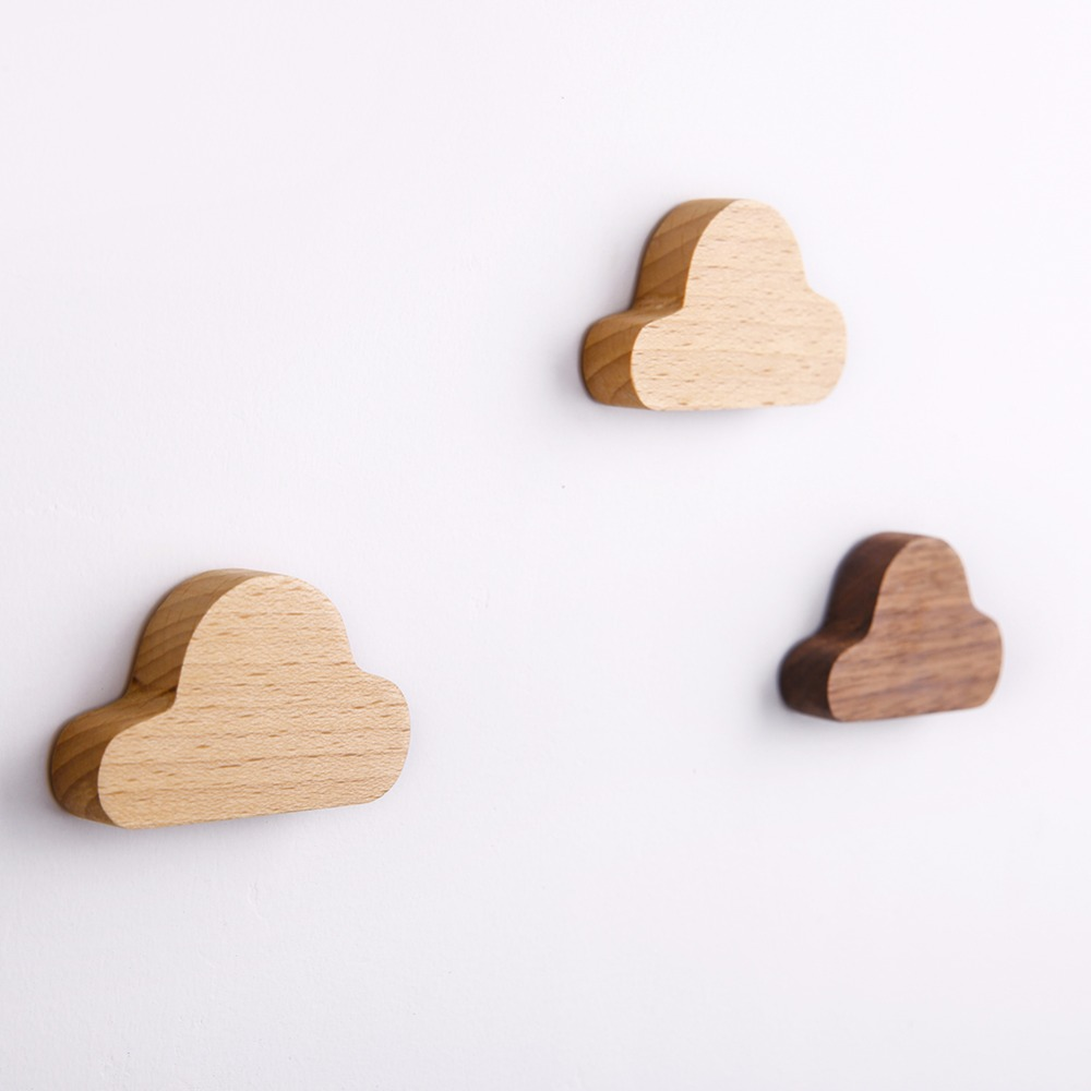 Wooden Magnetic Key Frame Wall Decoration Creative Magnetic Hook Home Decoration Accessories Kitchen Accessories