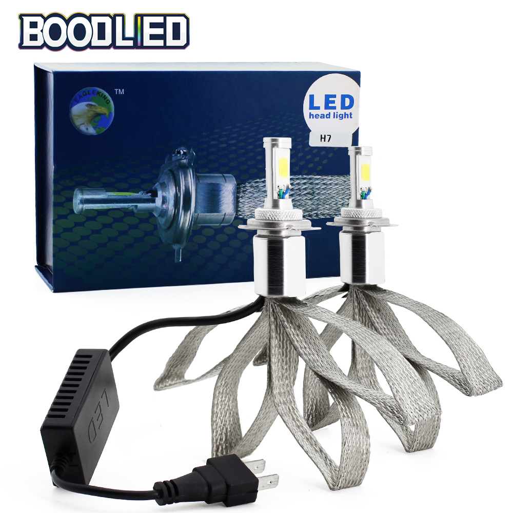 Sok H4 H7 H11 H1 H3 9005 9006 Cob Z1 Car Led Headlight Bulbs Hi Lo Wiring Diagram Headlights Headlamps 60w 6000k