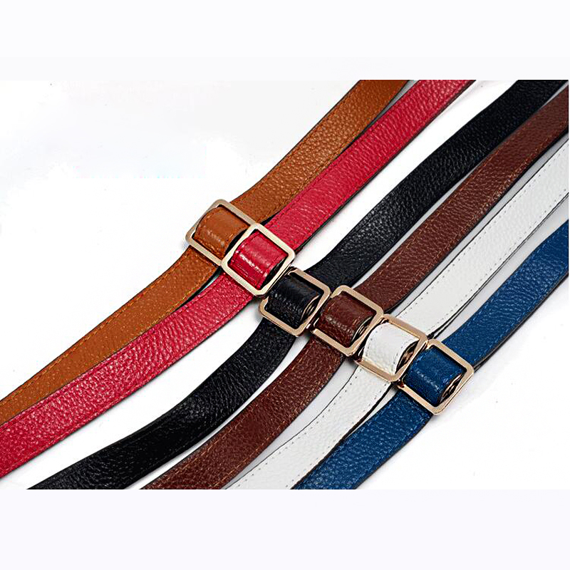 2f2266aa31 130 1.8cm Adjustable Genuine Leather Bag Strap Replacement Women Shoulder Bag  Belt Straps for Handbags Accessories Parts KZ9009-in Bag Parts   Accessories  ...