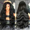 Top Grade 180% Full Density Virgin Peruvian Human Hair Wig Full Lace Wig Cheap Human Hair Lace Front Wig Glueless Hot Sale Wig