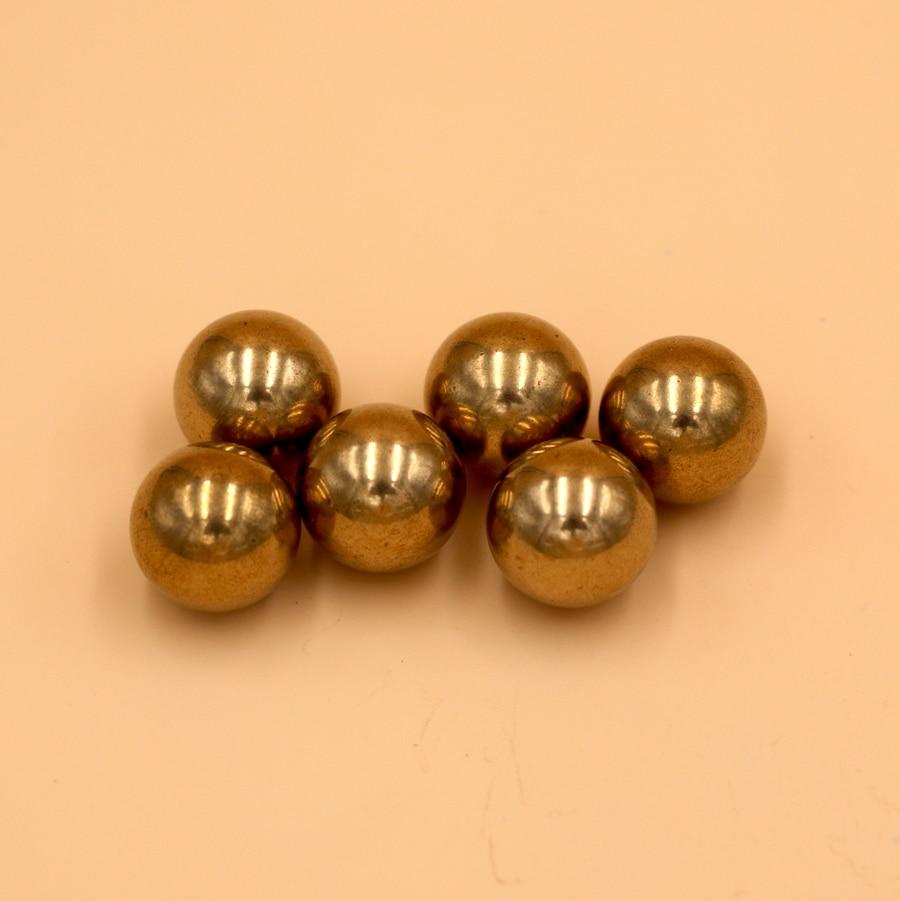 5/8'' ( 15.875mm ) 5 PCS Solid Brass ( H62 )  Bearing Balls