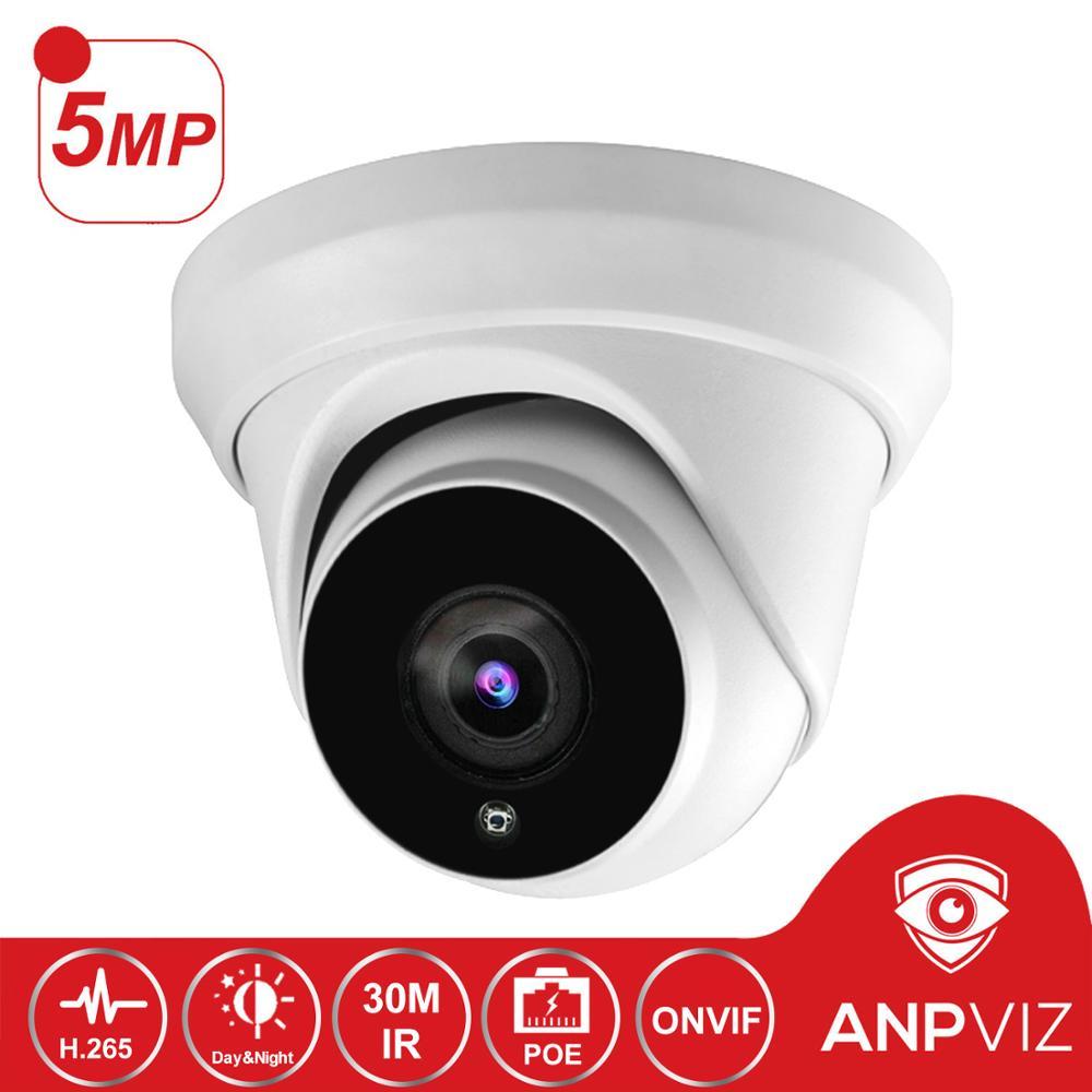 Hikvision compatible 5MP Turret Security Dome Camera IPC-D350 Outdoor 5 Megapixel Video Surveillance POE IP Cameras with 30M IRHikvision compatible 5MP Turret Security Dome Camera IPC-D350 Outdoor 5 Megapixel Video Surveillance POE IP Cameras with 30M IR
