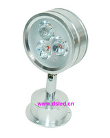 Free Shipping By DHL Good Quality Indoor 3W LED Corner Light LED Spotlight DS 06 54