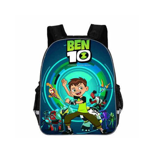 Children Backpacks Cartoon Ben 10 Backpack Students Boys Bagpack Ben10 School Bags Custom Made For Teenagers Kids Mochila Bags