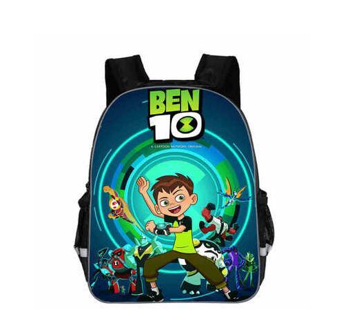 Crianças mochilas dos desenhos animados ben 10 mochila estudantes meninos bagpack ben10 sacos de escola feitos sob encomenda para adolescentes crianças sacos