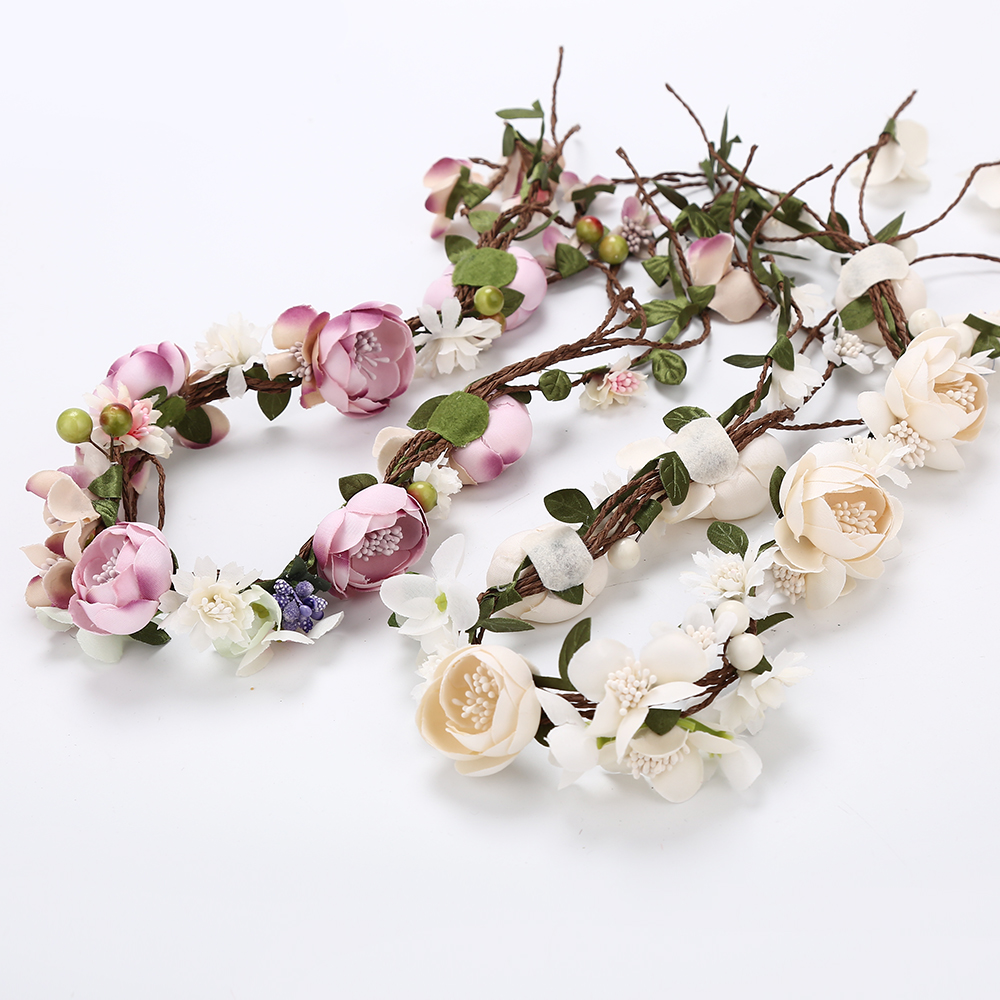 Girl's Accessories Strong-Willed Korea Fabric Tie Knot Hair Bands Rabbit Ears Hairband Flower Crown Headbands For Girls Hair Bows Hair Accessories D Apparel Accessories